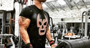 The Rock wearing Lucha Underground shirt - Wrestling Examiner - WrestlingExaminer.com