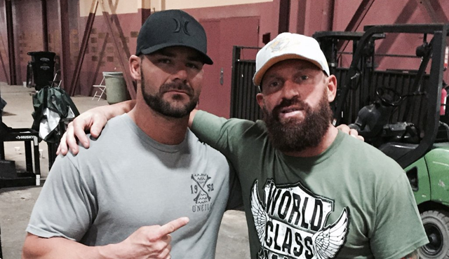 Bobby Roode and Eric Young - WrestlingExaminer.com