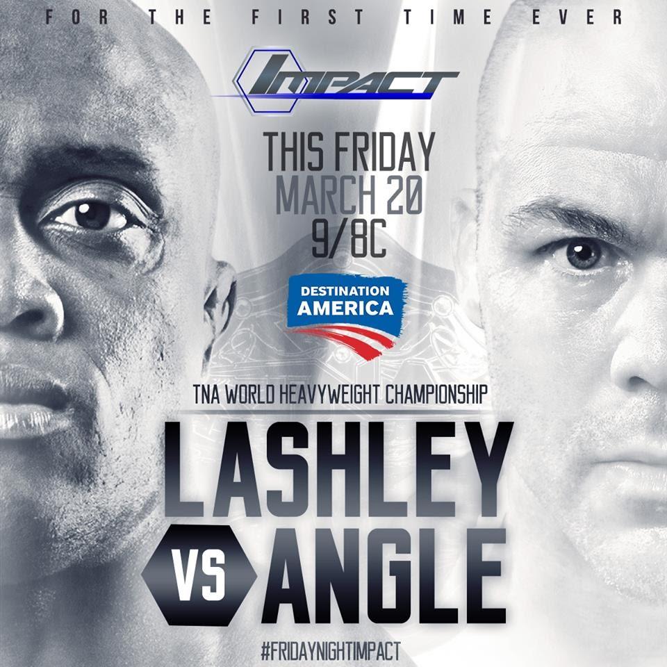Lashely vs Angle - WrestlingExaminer.com