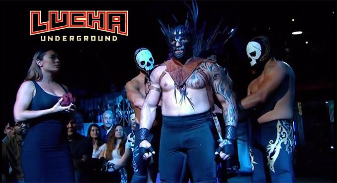 Mil Muertes with Deciples of Death - WrestlingExaminer.com