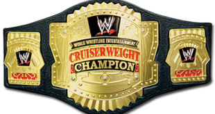 WWE Cruiserweight Chamipionship - Wrestling Examiner - WrestlingExaminer.com