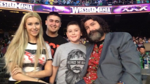 Mick Foley with Family - WrestlingExaminer.com