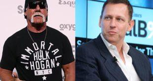Hulk Hogan and Peter Thiel - Wrestling Examiner