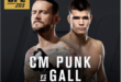 CM Punk Vs Gall - Wrestling Examiner