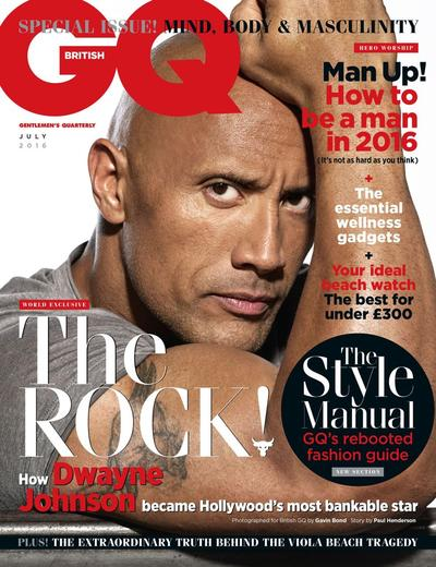 Dwayne Johnson on GQ magazine - Wrestling Examiner