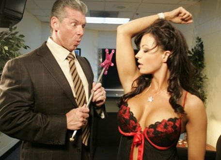 Vince McMahon with Candice Michelle - Wrestling Examiner