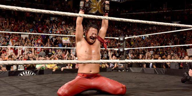 Shinsuke Nakamura Wins NXT Championship - Wrestling Examiner