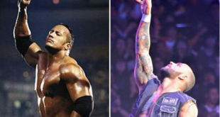 The Rock, Ricochet - Wrestling Examiner