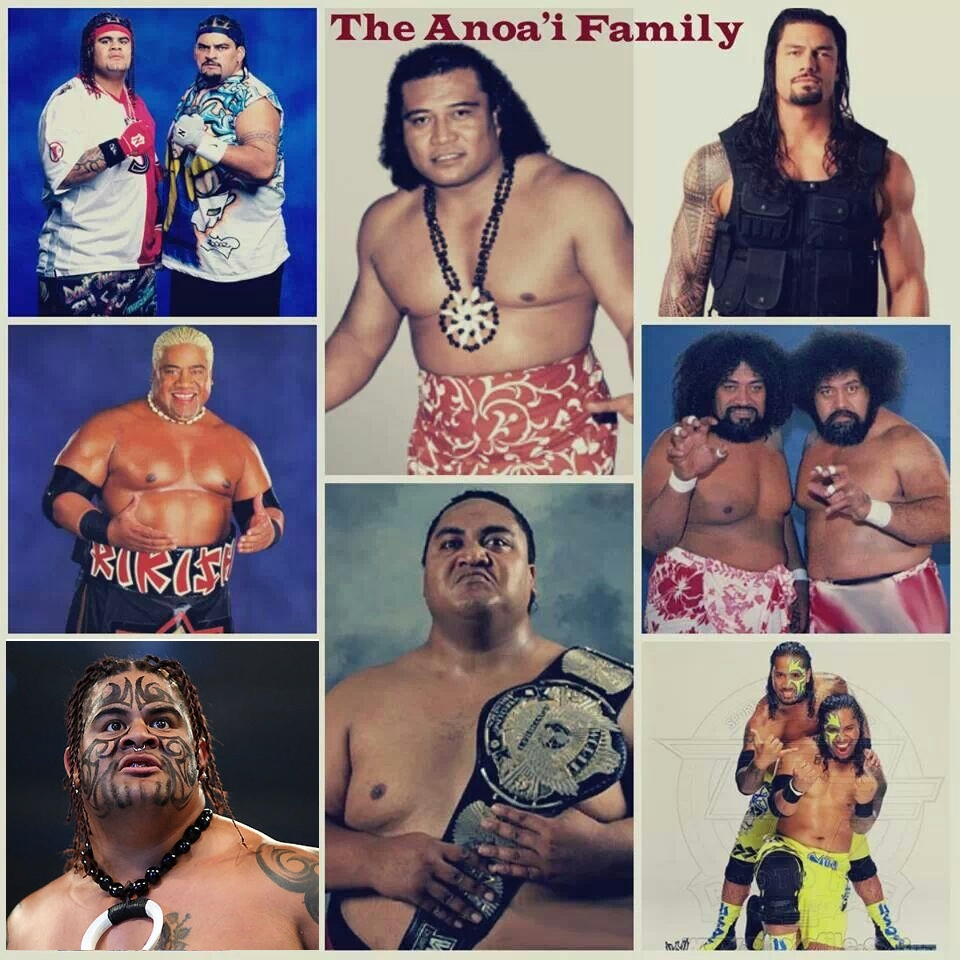 Anoa'i Family - Wrestling Examiner