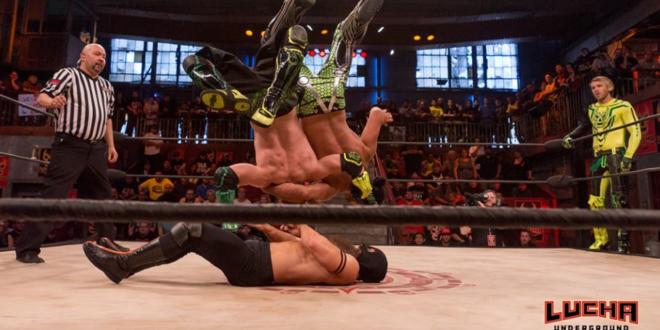 Lucha Underground Jack Evans and PJ Black flip S3EP17 - Wrestling Examiner