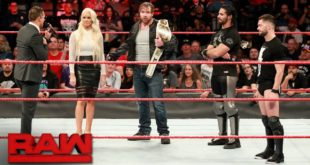 The Miz, Dean Ambrose, Seth Rollins, and Finn Balor in WWE Raw - Wrestling Examiner