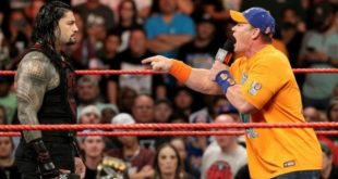 John Cena vs Roman Reigns - Wrestling Examiner