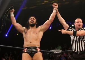 Drew Galloway TNA Champion - Wrestling Examiner - WrestlingExaminer.com