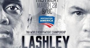 Lashely vs Angle - Wrestling Examiner - WrestlingExaminer.com
