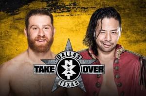 Sami-Zayn-Shinsuke-Nakamura-NXT-TakeOver-Dallas-Wrestling Examiner - WrestlingExaminer.com