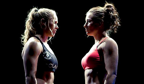 Tate-vs-Rousey - WrestlingExaminer.com