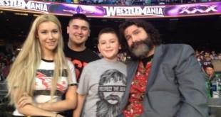 Mick Foley with Family - Wrestling Examiner - WrestlingExaminer.com