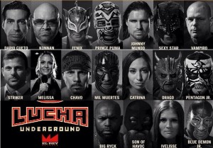 lucha underground roster - Wrestling Examiner - WrestlingExaminer.com
