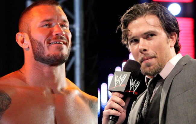 Randy Orton and Brad Maddox - Wrestling Examiner