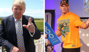 John Cena talks Trump