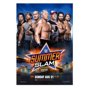 Original SummerSlam poster