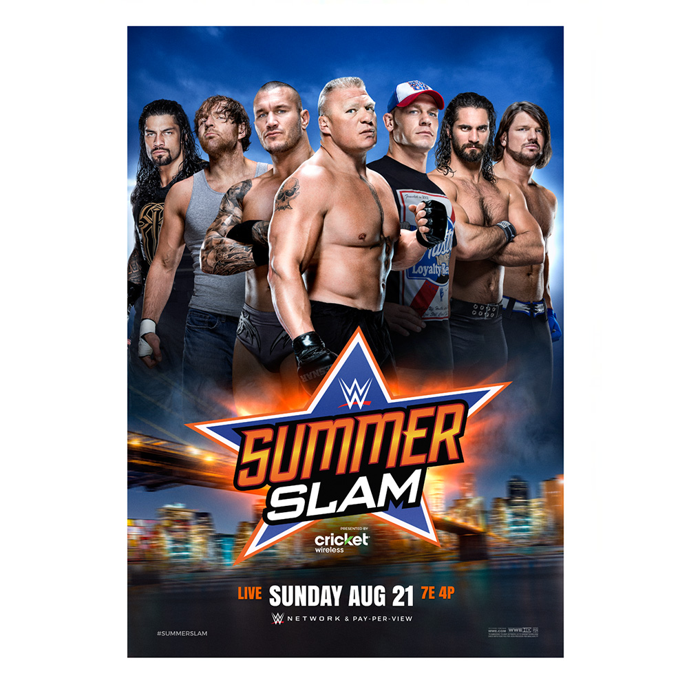 Original SummerSlam poster
