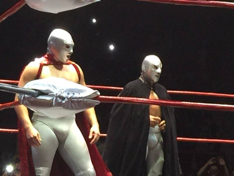 Santo Jr Debut With El Hijo Del Santo - Wrestling Examiner