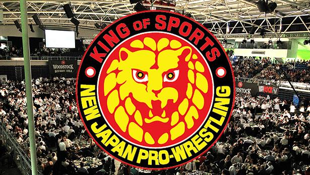 NJPW Logo - Wrestling Examiner