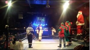 Santa vs Jesus FreakShow Wrestling - Wrestling Examiner