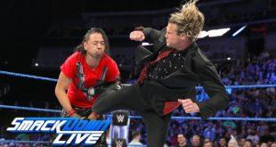Dolph Ziggler vs Shinsuke Nakamura on SmackDown - Wrestling Examiner