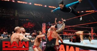 Jeff Hardy flips onto The Club, The Shinning Stars, and Sheamus and Cesaro - Wrestling Examiner