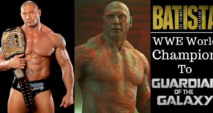 Batista - WWE World Champion To Guardian of the Galaxy - Wrestling Examiner