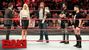 The Miz, Dean Ambrose, Seth Rollins, and Finn Balor in WWE Raw - Wrestling Examiner