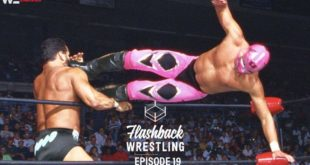 FlashBack Wrestling Podcast Episode 19 - Rey Mysterio - The King of Lucha Libre