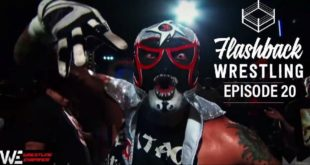 FlashBack Wrestling Podcast - Episode 20 - Pentagon Jr
