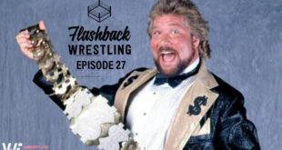 FlashBack Wrestling Podcast Episode 27 - Ted Dibiase - The Million Dollar Man