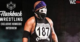 FlashBack Wrestling Podcast - Exclusive Interview with Homicide