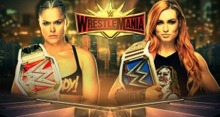 Ronda Rousey Vs Becky Wrestlemania