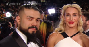 Andrade & Charlotte Flair - Wrestling Examiner
