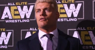 Cody Rhodes AEW - Wrestling Examiner