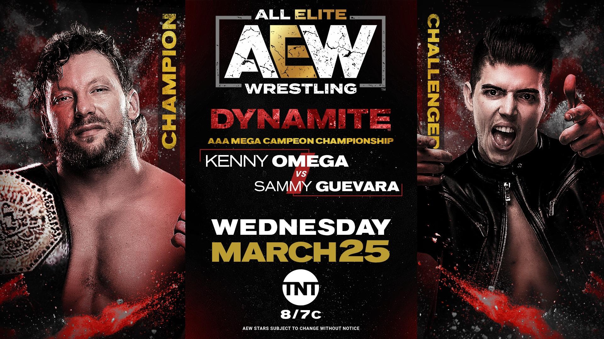 AEW Dynamite March 25