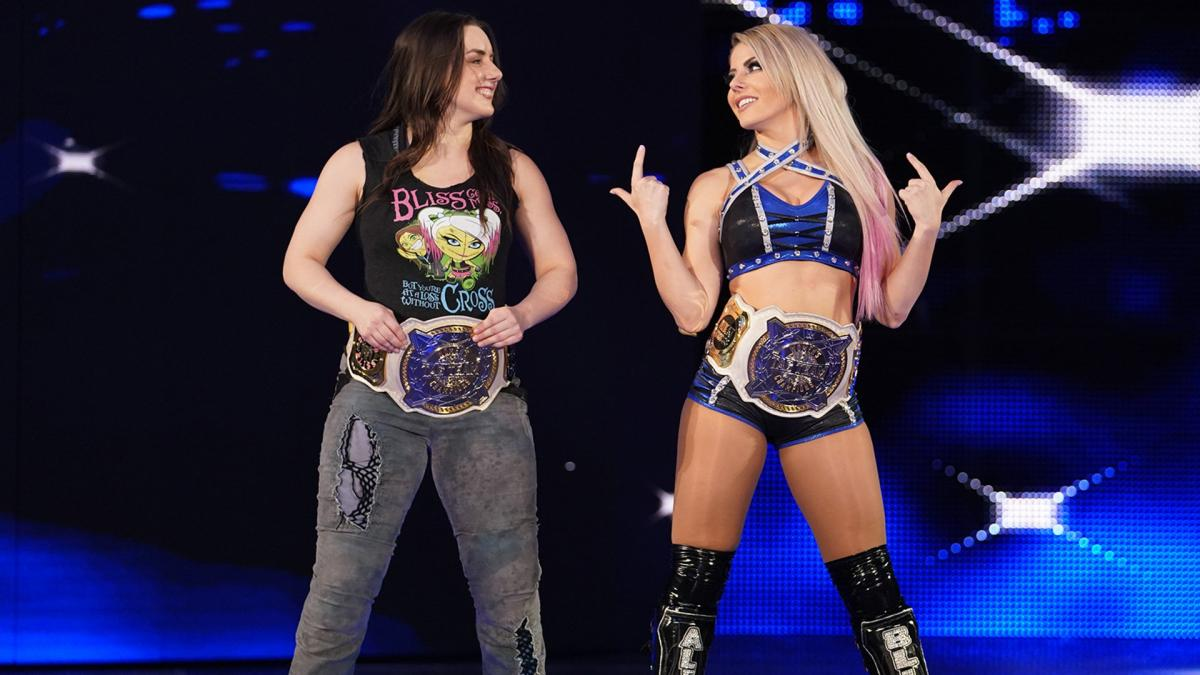 Alexa Bliss & Nikki Cross vs. Sasha Banks & Bayley