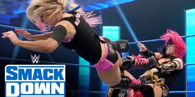 Alexa Bliss vs Asuka - Wrestling Examiner