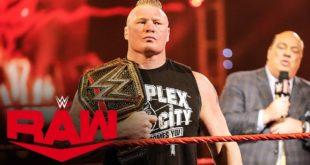 Brock Lesnar with Paul Heyman - Wrestling Examiner