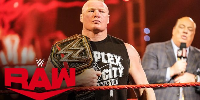 Brock Lesnar with Paul Heyman - Wrestling Examiner