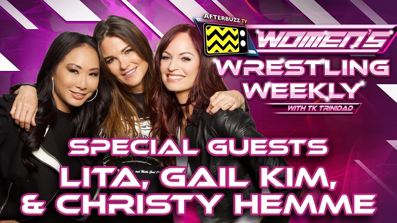 Christy Hemme, Gail Kim and Lita on Womens Wrestling Weekly