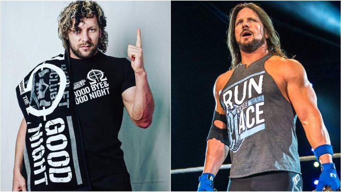 Kenny Omega and AJ Styles