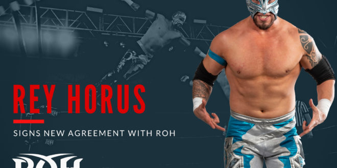 Rey Horus Signs with ROH - Wrestling Examiner