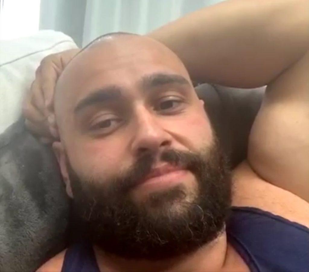 Rusev Bald - Wrestling Examiner