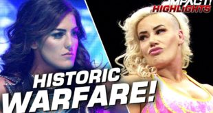 Tessa Blanchard vs Taya Valkyrie for Impact Championship